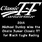 Black Eagle Racing came first in 2016 Okells Classic TT