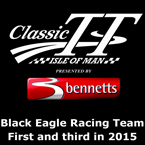 Black Eagle Racing come first and Third in Classic TT