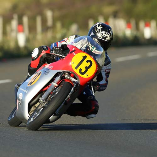 Lee Johnston finishes third in the 2015 Classic TT 500