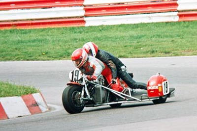 First Classic sidecar race 1998