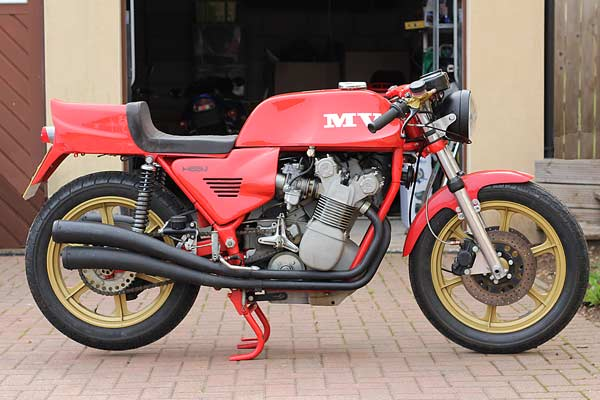mv agusta magni 861cc for sale